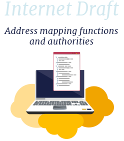 Internet-Draft: Address mapping functions and authorities